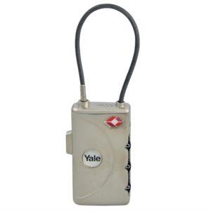 TSA Soft Shackle Combination Lock with ID Tag 30mm