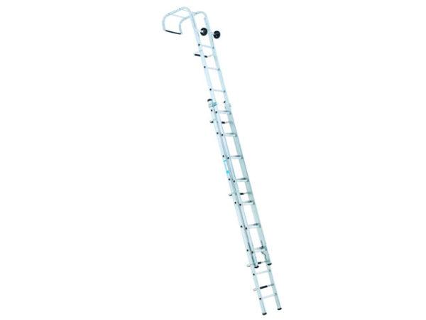 Industrial Roof Ladder 1-Part 14 Rungs 4.65m