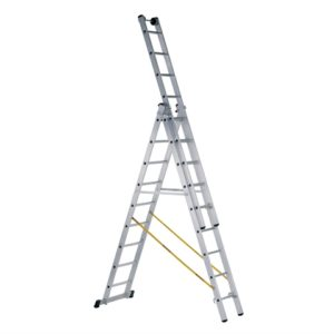 Skymaster Industrial 3-Part Combination Ladder 3 x 8 Rungs