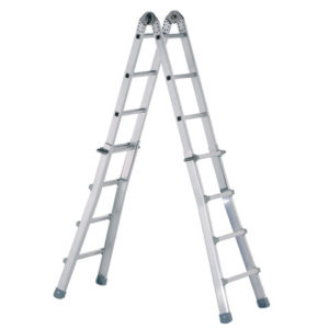Industrial Telescopic Combination Ladder 4 x 4 Rungs