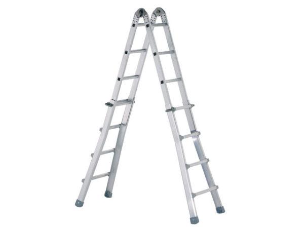Industrial Telescopic Combination Ladder 4 x 6 Rungs
