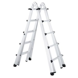 Trade 4-Part Telescopic Ladder 4 x 5 Rungs