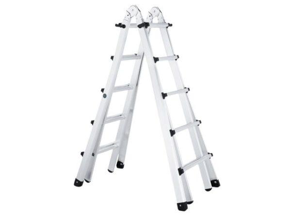 Trade 4-Part Telescopic Ladder 4 x 5 Rungs