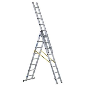 D-Rung Combination Ladder 3-Part 3 x 8 Rungs