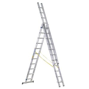 D-Rung Combination Ladder 3-Part 3 x 10 Rungs