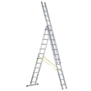 D-Rung Combination Ladder 3-Part 3 x 12 Rungs