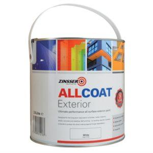 ALLCOAT Exterior White 2.5 litre