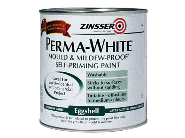 Perma-White Interior Paint Matt 1 litre