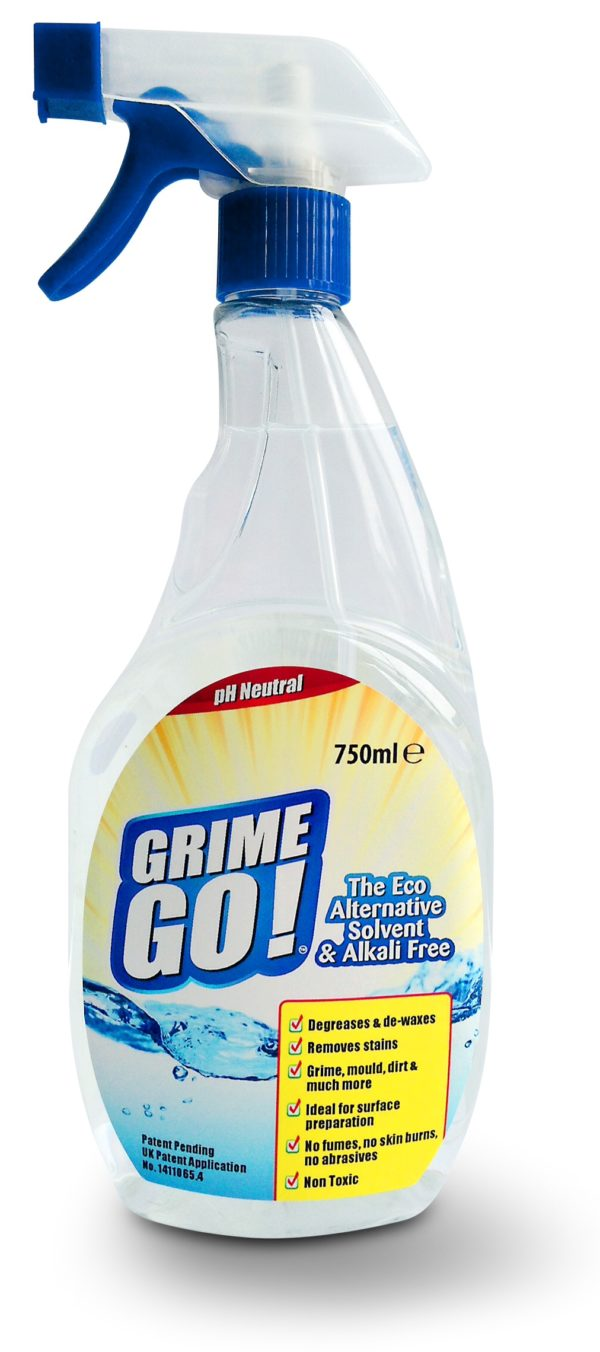 Eco Solutions Grime Go Degreaser 750ml Trigger Spray Bottle - Free Shipping