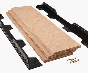Loft Ledge Truss Shelving Kit
