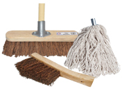 Brushes, Brooms and Mops