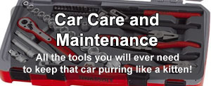 Car care and maintenance products