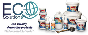 Eco Solutions decorating products
