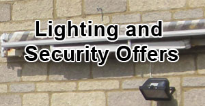 Lighting and Security offers