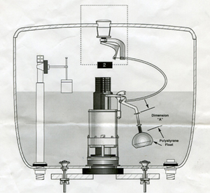 Push Button Cistern Diagram