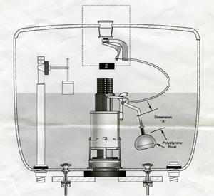 Push Button Cistern Diagram