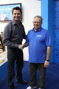George Clarke and Mike Edwards