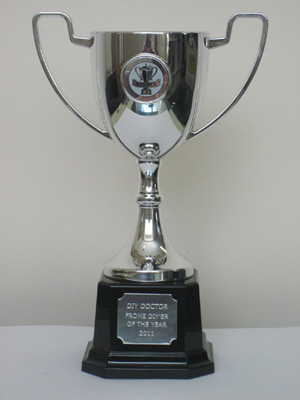 DIYer of the Year Competition Cup