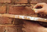 pointing Summer jobs   Repointing masonry