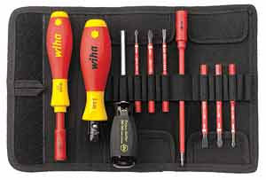 Torque screwdriver set from Wiha available from NeweysOnline