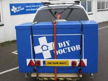 DIY Doctor set off for Harrogate Homebuilding and Renovating Show