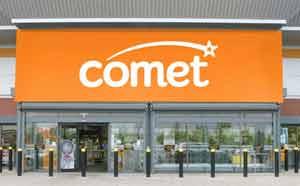 Electrical retailer Comet