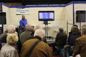 How to skim plaster a wall at the Harrogate Homebuilding and Renovating Show