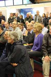 Audience at the Harrogate Homebuilding and Renovating Show