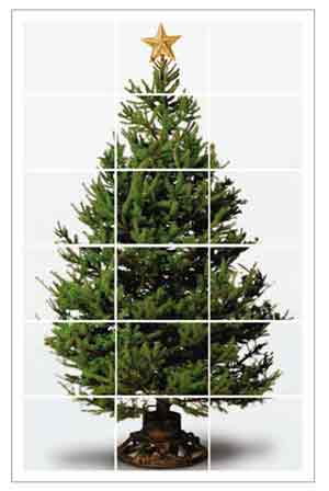 Print Out Tree More DIY Christmas Tree alternatives