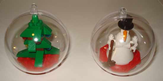 brickscientist Xmas ornamen DIY Tree Ornaments