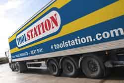 Toolstation lorry