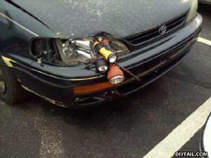 DIYFail Car Headlight DIY headlight