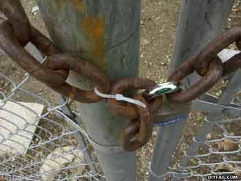 Diyfail chain The weakest link