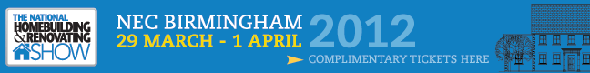 National Homebuilding and Renovating Show free tickets