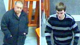Thieves who stole a burglar alarm