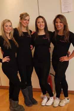 The Aquabatique girls