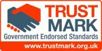 trust mark logo DON'T GET BLOWN OFF COURSE BY ROGUE TRADERS