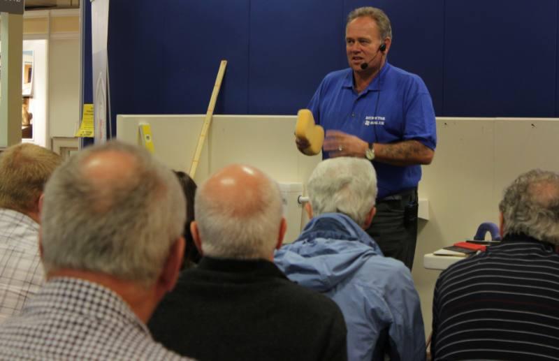 Tiling a bathroom2 800x5171 Bathroom Seminar brings in record crowds