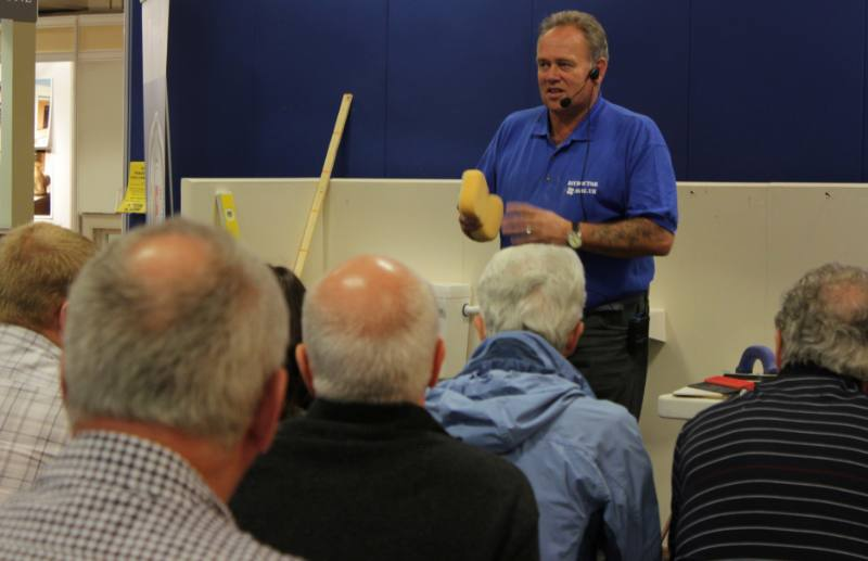 Tiling a bathroom2 800x5171 Bathroom Seminar brings in record crowds