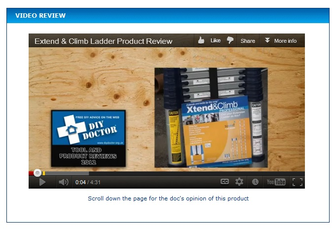 Video review Video Tool Reviews Launched on DIYDoctor