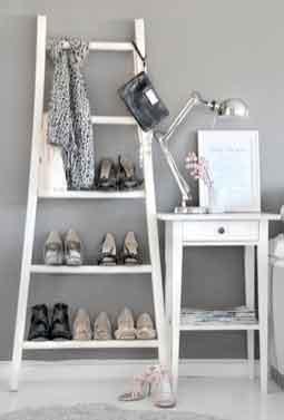 ladder shoe rack1 When is a ladder not a ladder.......