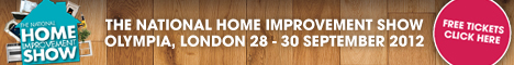 National Home Improvement Show 2012 free ticket offer