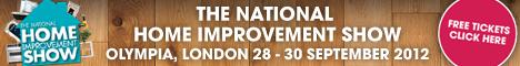National Home Improvement Show 2012 banner