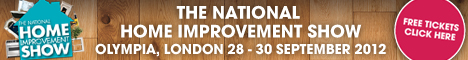 Free tickets to The National Home Improvement Show 2012