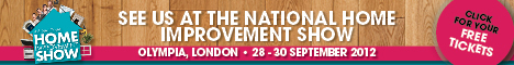 NHIS Exhibitor Eamil Banner 468x60 FV 2 2 DIY Doctor at National Home Improvement Show next weekend