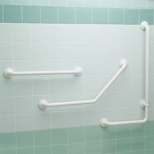 Bathroom grab rails