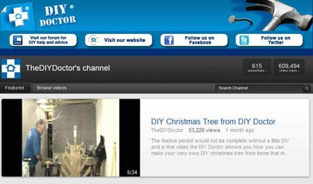 You Tube Have you seen our You Tube channel, for video tool reviews?