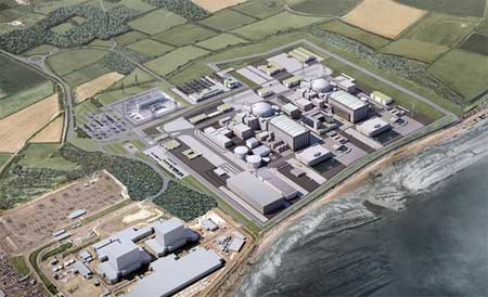 Hinkley Point C artists impression