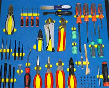 A well ordered tool drawer