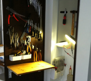 Cupboard tool shed Viva DIY: A response to Lucy Mangans article in Stylist